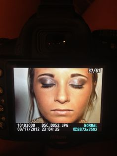Make-up I did today