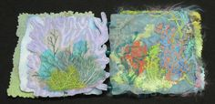 Sea Forms (pages 6 and 7) [http://gordanavukovic.com/art-portfolio-2/artist-books/sea-forms/sea-forms-pages/]
