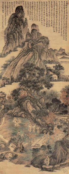 Shi Tao(石濤) , 山水