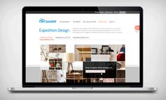 New website for Sauder created as part of a rebranding project.