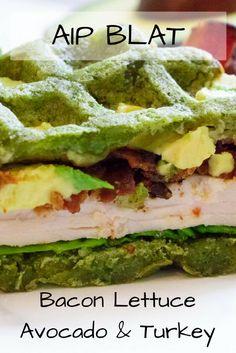 BLAT Bacon Lettuce Avocado & Turkey Sandwich (AIP, Paleo)— AIP Nutrition