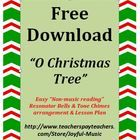 **FREE** Enjoy using this Easy Bells & Chimes arrangement of O CHRISTMAS TREE!  This product includes the following materials: •Lesson Plan, O...
