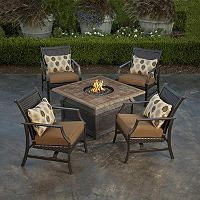 Savona II Fire Pit Chat Set - 5 pc. - Sam's Club