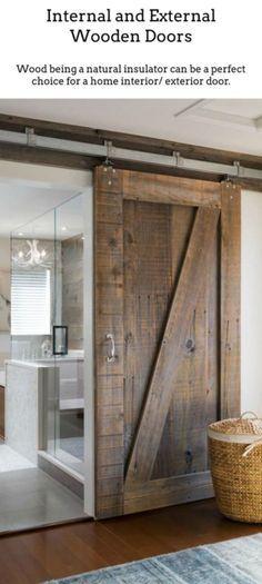 Wooden Doors. Wooden