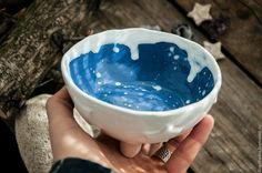 Купить Пиала Сказка Волшебника - фиолетовый, волшебство, подарок, Керамика, звезда, пиала ручной работы