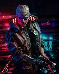 Cyberpunk The Witcher, Geralt of Rivia, game wallpaper<br> Cyberpunk 2077, Cyberpunk City, Cyberpunk Kunst, Cyberpunk Aesthetic, Cyberpunk Fashion, The Witcher Game, The Witcher Geralt, Geralt Of Rivia, Character Inspiration