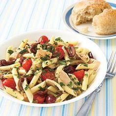 Niçoise Pasta Salad Recipe   MyRecipes.com