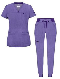 Cute Scrubs Uniform, Cute Nursing Scrubs, Scrubs Outfit, Scrubs Pattern, Scrub Shop, Medical Scrubs, Nurse Scrubs, Skinny Joggers, Medical Uniforms