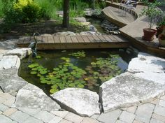 If you are a fish lover you can have an aquarium at home that you can use as a decorative detail for the interior design, but you can also create a fish pond in your yard because it gives a natural look and it is pleasant to see the beautiful fishes in it. The pond ...