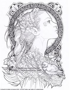 Love the celtic circle design for a possible tattoo. Elvish by `Saimain on … Love the celtic circle design for a possible tattoo. Elvish by `Saimain on deviantART Tatoo Symbol, Tatoo Art, Elf Tattoo, Elvish Tattoo, Virgo Symbol, Celtic Circle, Celtic Art, Celtic Dragon, Coloring Book Pages