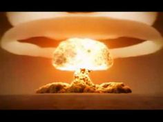 Nuclear Explosion in slow motion. Imagine all that energy put to good use.