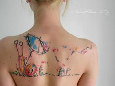 http://kickassthings.com/2014/06/aleksey-platunov-tattoos-mix-watercolor-geometry/