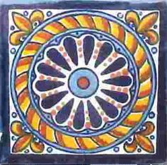 Traditional Talavera Tile