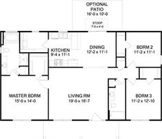 Second favorite I think   The Pleasantview A House Plan for    The Ashley A Slab House Plan for Jacksonville FL