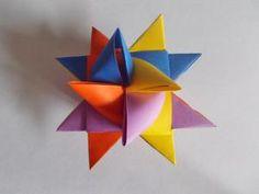 How to make a German Christmas Star