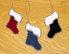 Stained Glass Suncatcher - Christmas Stocking