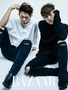 The iKON boys are all swag and sexy in their group pictorial for 'Harper's Bazaar'
