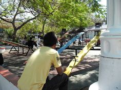 The San Fernando park offers a playgroud fit for one's vagabond.