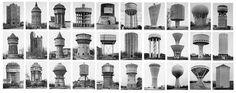 Bernd Becher and Hilla Becher. Water Towers. 1963-93