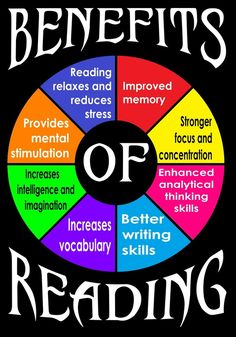 The advantages of reading books