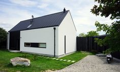 Design House Black & white with traditional shape.