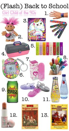 I remember all of these!!