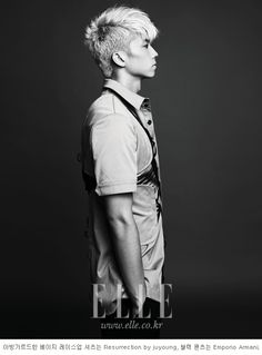 Email |  |  2PM's Wooyoung in Elle Korea August 2012
