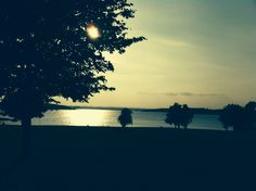 I took this picture at Rutland water as the sun was setting