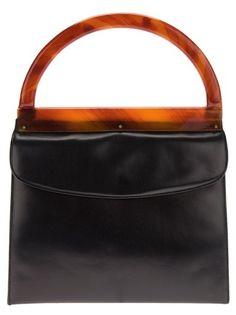 bd8ad3c962416 Katheleys Vintage Lucite Handle Handbag Vintage Purses, Vintage Bags,  Ribbed Turtleneck, Pocket Books