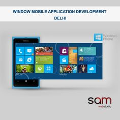 SAM Web Studio is a leading window mobile application development company Delhi India, have expertise to provide quality apps development service at very reasonable market prices. For more information, call today … +91- 9968-353-570.  Please Visit:- http://www.samwebstudio.com/services/mobile-applications/window-application-development