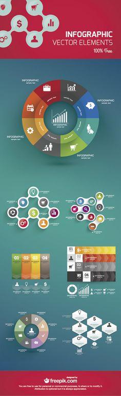 Free Vector Infographic Design Template (AI) by freepik.com at sixrevisions.com