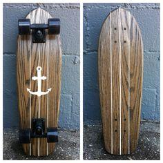 The Billy Bones II Cruiser Skateboard by Salemtown Board Co.