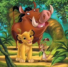 "Photo from album ""Король лев"" on Yandex. Le Roi Lion Disney, Simba Disney, Disney Lion King, Disney Art, Disney Cartoon Characters, Cartoon Pics, Disney Cartoons, Lion King Party, Lion King Birthday"