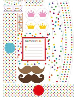 carte invitation anniversaire gratuite à imprimer 9 ans
