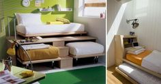 If you have small rooms, then you are completely aware of the challenges they present. Tiny spaces can leave you feeling hopeless when trying to arrange furniture or attempting to find storage. That's why we've compiled 16 photos that will help you transform your small spaces into something extraord...