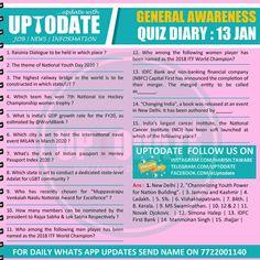 General Awareness Quiz : 13 January Youth Day, Hold On, January, Names, Naruto Sad