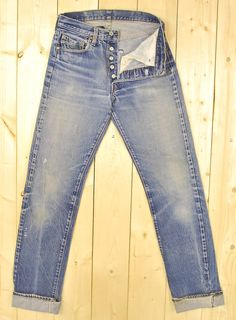 Vintage 1970's/80's LEVIS 501's Denim Jeans / by PontiacDryGoods