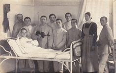 German soldiers in hospital