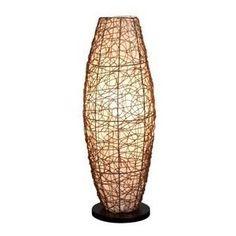 Aspire Zephyr Rattan Floor Lamp