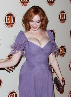 Christina Hendricks Brings the Quote of the Day - On how she struggles to find dresses for the red carpet: Not one designer will loan me a dress. 'They only lend out a size zero or a size 2. So I'm st...