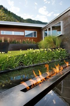 Studio B Architects Fire Pit