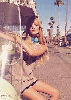Nicole Bentley for Vogue Australia via dustjacket attic blog