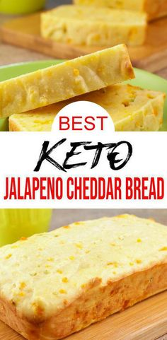 Looking for a good keto bread recipe? Try this low carb keto jalapeno cheddar loaf bread recipe. Easy keto recipe for the BEST homemade low carb loaf bread. Jalapeno Cheddar, Healthy Freezer Meals, Keto Cheese, Cheese Bread, Almond Flour Recipes, Coconut Flour, Low Carb Side Dishes, Keto Snacks, Breads