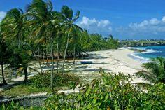 Picture - Sam Lord Castle beach.