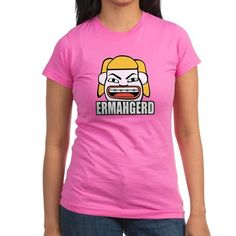 Ermahgerd T Shirt  #ermahgerd #memes #funny #humor #cartoon #drawing #illustration #omg #shirts #juniors