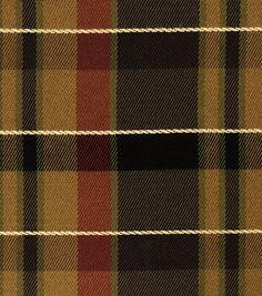 Home Decor Print Fabric-Jaclyn Smith Regency-Caramel