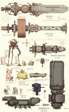 Ideas Robot Concept Art Spaceships For 2019 Spaceship Art, Spaceship Design, Arte Sci Fi, Sci Fi Art, Android Art, Starship Concept, Arte Robot, Concept Ships, Space Ship Concept Art