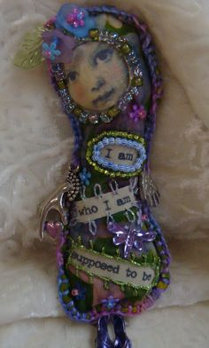 how therapeutic would it be to create this with an image of yourself as a child  lavender filled doll