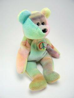 PE Pellets 2003 Mint w// Tag Ty Beanie Babies Nara the flower bear