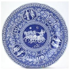 Spode Blue Room Greek Plate